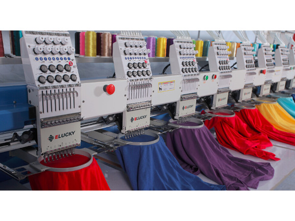 8 Head Digital Embroidery Machine